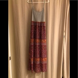 NWT, Summer Maxi Dress
